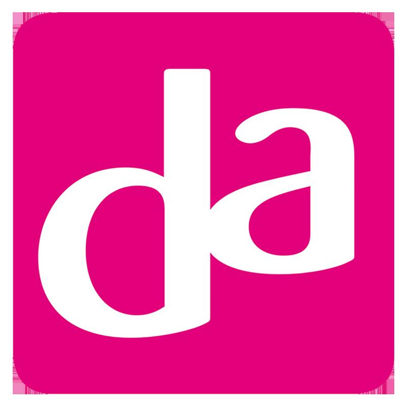Logo DA Drogist Suriname